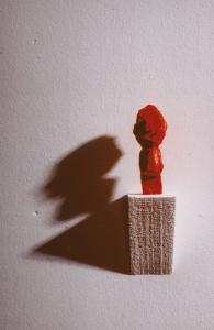f ein kleiner roter Mann